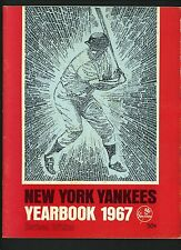 1967 Yankees Official Yearbook REVISED Edition Mickey Mantle Whitey Ford Tresh