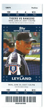 Jerry Hairston homer, Kameron Loe win ticket; Rangers at Detroit 6/25/2007