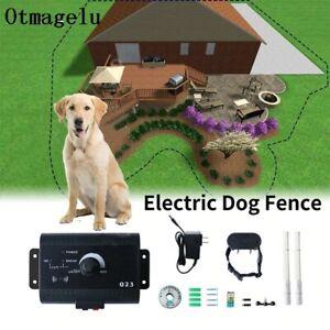 Clôture anti-fugue et Collier à choc électrique pour chien avec 300m de fil