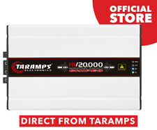 Taramps HV 20K 0.5 Ohm Amplifier Class D 20000W RMS High Voltage NEW RELEASE!!