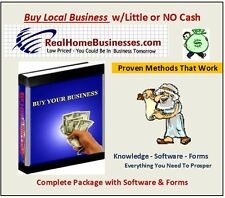 How To Buy A Local Small Business - Software & Forms