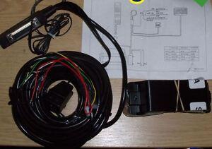 New Motorola M8989 M2700 Carkit Wiring Loom Kit Connectors & Bracket SLN3398A