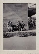 Old Vintage Antique Photograph Two Couples Wearing Western Outfits Cowboy Hats