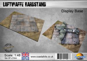 Coastal Kits 1:48 scale Luftwaffe Hardstand Display Base