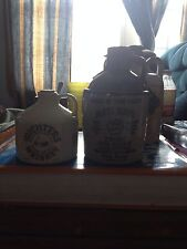 2 Whiskey Jugs; A McCormick Platte Valkey And A Michter's Half Pint