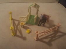 Vintage Littlest Pet Shop Pony and Accessories Kenner