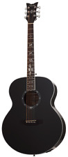 Schecter Synyster Gates 3703 Signature Mahogany Body Acoustic Guitar Gloss Black