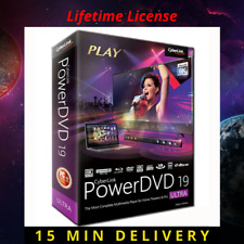 Cyberlink PowerDVD  Ultra 19 Full version LIFETIME ACTIVATED key fast download