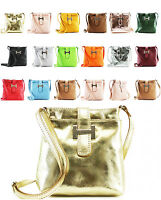 New Genuine Leather Ladies Women Cross Body Bag Girls Shoulder Casual Party Bag