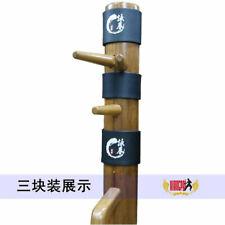3PCS Wing Chun Kung Fu Pads Ip Man Wing Stun Wooden Dummy Head Protect Pads