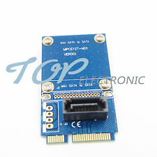 mSATA Mini PCI-e SATA SSD Slot To 7 Pin SATA HDD Convert Card Adapter