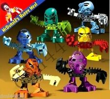 2001 McDonalds Lego Bionicle MIP Complete Set - Lot of 6, Boys & Girls, 3+