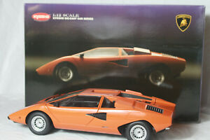 1/12 Kyosho Lamborghini Countach, Mint condition Free shipping with insurance.