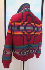 VTG Pendleton Country Sophisticates Southwest Indian Blanket Jacket/Coat L 48
