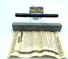 Vintage OS Salz Fountain Pen  BCHR Syringe Piston Filler Restored Beautiful BOX