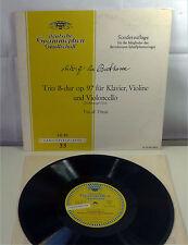 "DGG Tulips LP: Trio di Trieste / BEETHOVEN ""Cello Trio op. 97"" 10"" Vinyl"