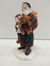 """Pipka Teddy Bear Santa 6"""" - - Excellent Condition"""