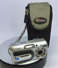 Fujifilm FinePix A Series A330 3.2MP Digital Camera -Silver Tested With case#501