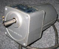 Oriental FPSI425C-15M IP65 Waterproof Gearhead Motor - 200 V - 25 Watts  113 RPM
