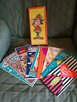 Vintage Tall  Adult Humor Greeting Cards, Unused, Lot of 9 w/box, #2329