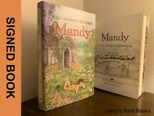 Julie Andrews SIGNED BOOK Mandy FIRST EDITION Hardcover ~ Mary Poppins!