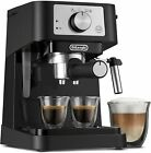 De'Longhi Stilosa Manual Espresso Machine, Latte & Cappuccino Maker, EC260BK photo