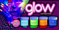 Glam and Glits ACRYLIC Glow in the Dark Nail Powder-48 Colors Pick1-Glam & Glits