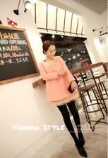 Brand New Japan Mori Style Fleece A Line Lace Loose Legging Blouse Dress Top S