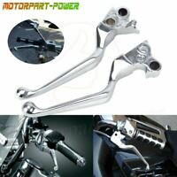 Hand Control Lever Kit for 17-19 Harley-Davidson Touring and 19-later Trike Chrome