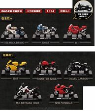 Rare Lot of 8 New 2016 Taiwan Ducati 1:24 Die Cast Motor  Collectable