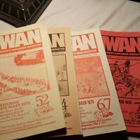 4 Midwest Wargamers Association Newsletter - Adventure Gaming Magazine - Lot