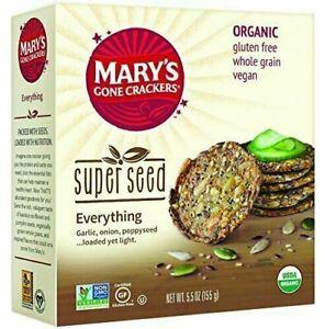 Marys Gone Crackers Cracker Everything Seed Organic