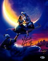 "WILL SMITH Signed Autographed ALADDIN ""Genie"" 11x14 Photo BECKETT BAS #H72156"
