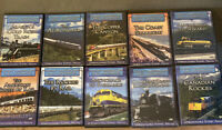 Lot 10 Great American Rail Journeys Unreachable Scenic Areas DVD Set 6 Are New