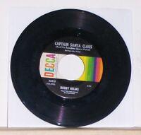 Bobby Helms - Jingle Bell Rock / Captain Santa Claus 45 RPM Record Single