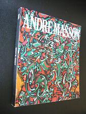 André MASSON M. Leiris Surréalisme Grand Palais Acéphale catalogue art abstrait