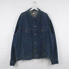 Vintage LEE Blue Denim Jacket Mens Size 3XL