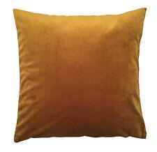 Kissenhülle French Velvet Samt gold Kissen kuschelig mit Reisverschluß Deko