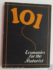 Economics For The Motorist 101 1924 Tide Water Oil Sales Corp.