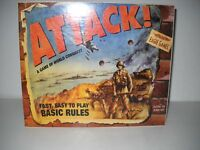 Eagle Games Attack! A Game Of World Conquest Board Game Factory sealed NEW NOS