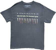 New Men's NIN Nine Inch Nails The Downward Spiral Band Music 70s 80s T-Shirt Tee