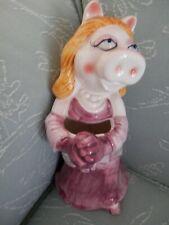 Miss Piggy Ceramic Vase, Muppets, Sigma Taste Setter