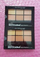 2 x 200 MEDIUM Maybelline Master Contour Camo Color Correcting Kit