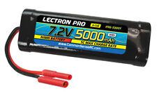 Lectron Pro 5000mAh 6 cell 7.2v NiMH Battery HXT Banana Connector FREE US SHIP
