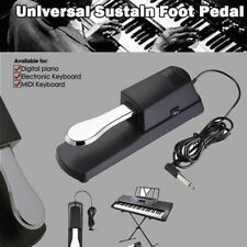 Universal E-Piano Sustain Pedal Keyboard Foot Damper Pedal with Sustainpedal