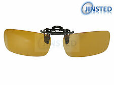 High Quality Yellow Light Clip On Polarised Fishing Sunglasses Polarized ACP025
