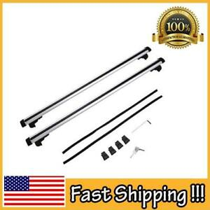 "48"" Universal Car Roof Rack Cross Bar Top Cargo Luggage Carrier Rail SUV Wagon ^"