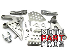 2003 - 2006 Honda CBR 600RR SILVER OEM REPLACEMENT REAR SET ASSEMBLY