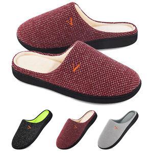 VONMAY Women's Memory Foam Slippers Cozy Slip on Indoor Outdoor House Shoes