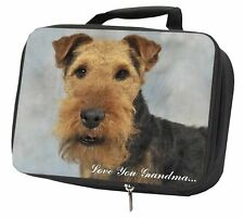 More details for welsh terrier 'love you grandma' black insulated school lunch box , ad-wt1lyglbb